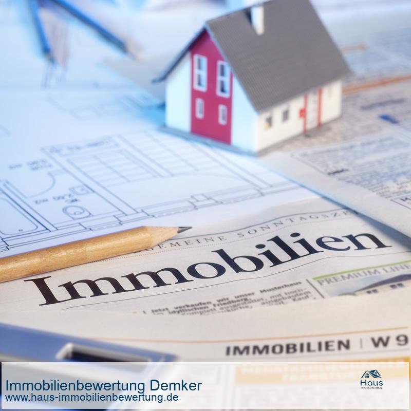 Professionelle Immobilienbewertung Demker