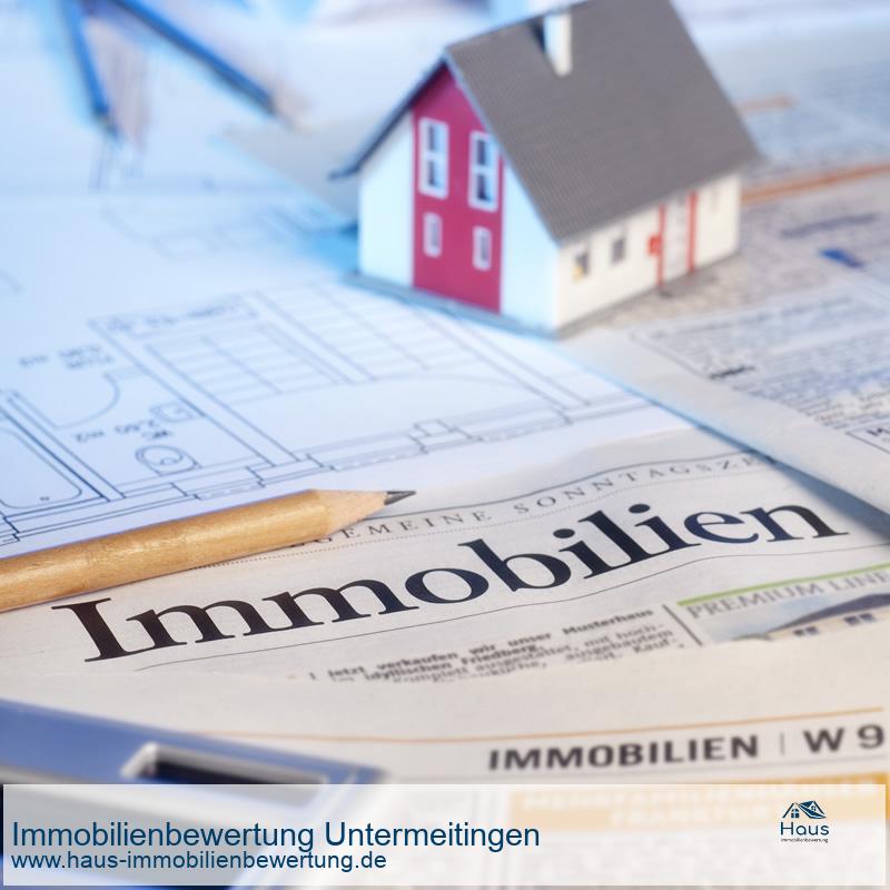 Professionelle Immobilienbewertung Untermeitingen