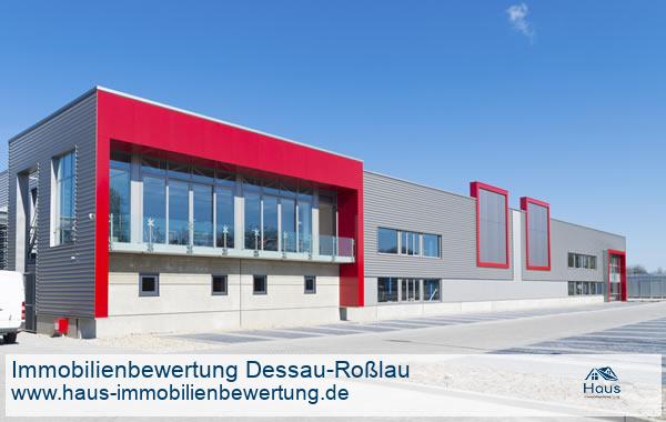 Professionelle Immobilienbewertung Gewerbeimmobilien Dessau-Roßlau