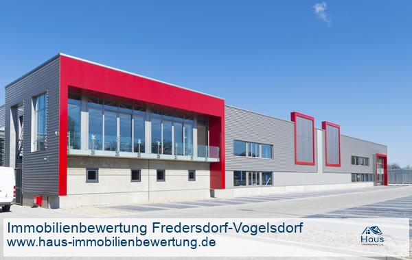 Professionelle Immobilienbewertung Gewerbeimmobilien Fredersdorf-Vogelsdorf
