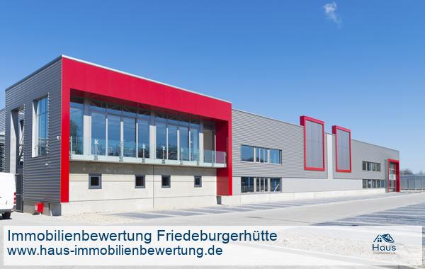Professionelle Immobilienbewertung Gewerbeimmobilien Friedeburgerhütte