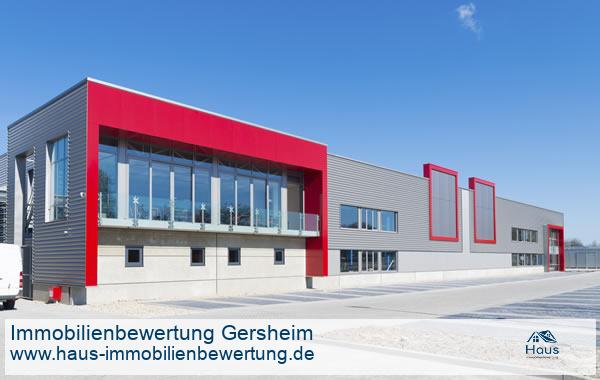 Professionelle Immobilienbewertung Gewerbeimmobilien Gersheim