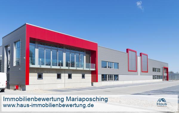 Professionelle Immobilienbewertung Gewerbeimmobilien Mariaposching