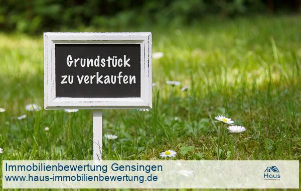 Professionelle Immobilienbewertung Grundstück Gensingen