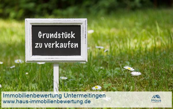 Professionelle Immobilienbewertung Grundstück Untermeitingen