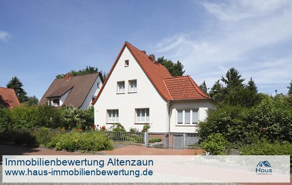 Professionelle Immobilienbewertung Wohnimmobilien Altenzaun
