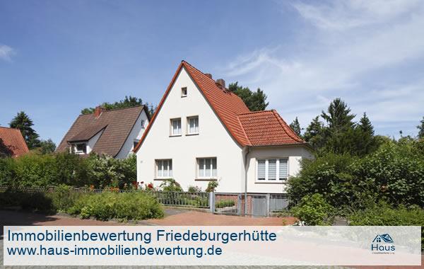 Professionelle Immobilienbewertung Wohnimmobilien Friedeburgerhütte