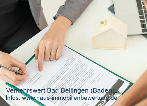 Verkehrswert Immobilie Bad Bellingen (Baden)